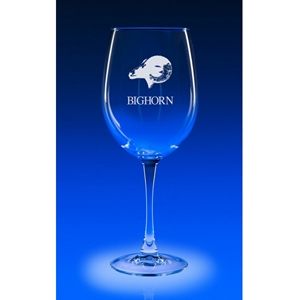 19oz COLOSSAL WINE  Etched - Set of 2