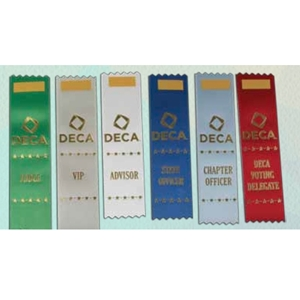 Conference Ribbons - Pkg of 25