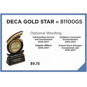DECA Gold Star