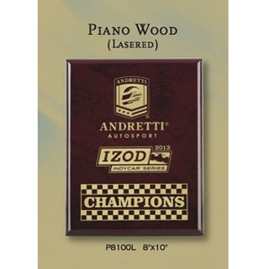 Piano Finish Rosewood Plaque - Direct Print (4 sizes)