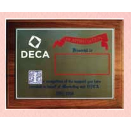 Plaque - Appreciation