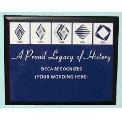 Plaque - Legacy of HIstory