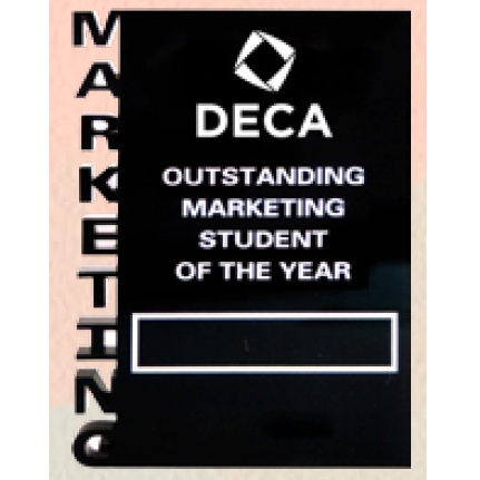Plaque - Marketing Student