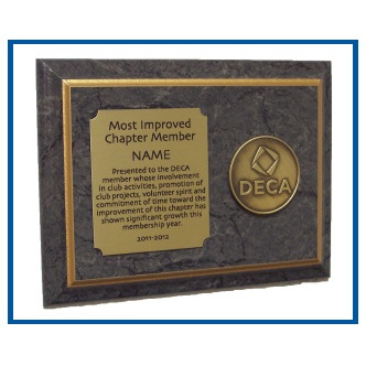 Plaque - Most Improved Chapter Member