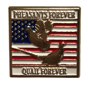 Pheasants Forever Vet Lapel Pin
