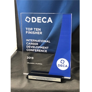 DECA ICDC Duplicate Trophy - Top Ten